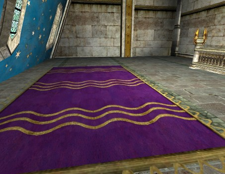 Grand Tapis Violet