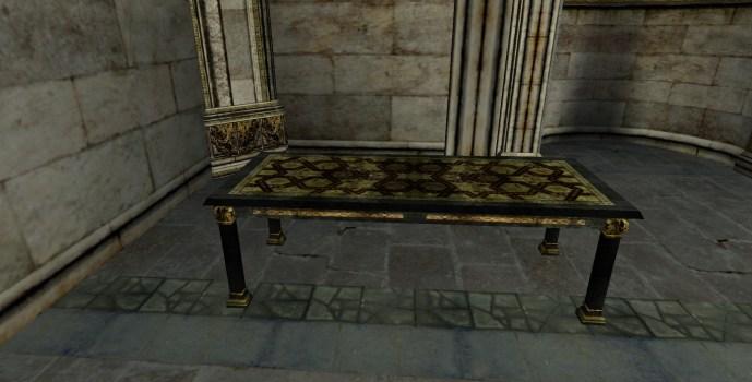 Table moyenne du Gondor
