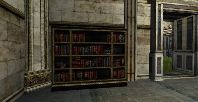 Grande étagère à livres du Gondor