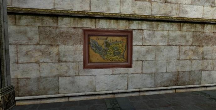 Carte de la Lothlorien