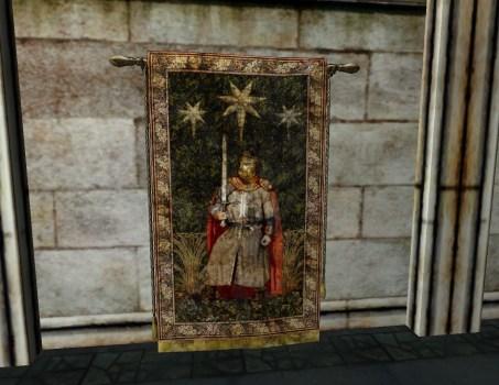Tapisserie du Chevalier et des Etoiles du Gondor