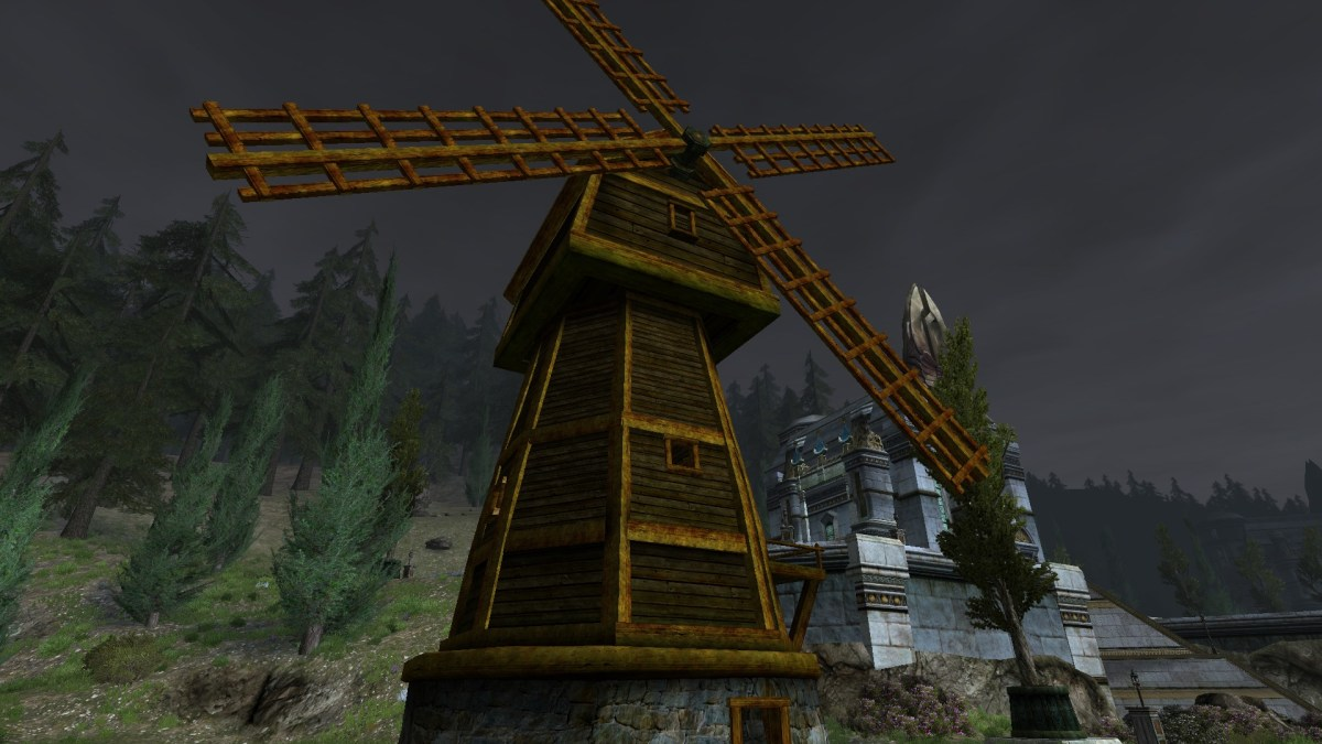 Moulin à vent du Rohan