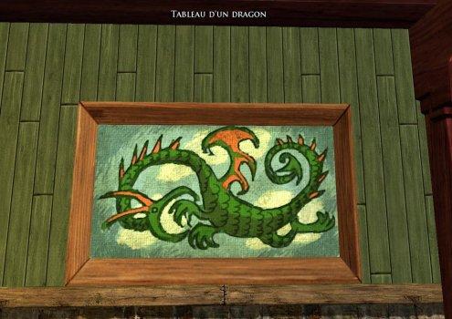 Tableau d'un Dragon