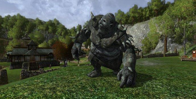 Troisième Troll de pierre