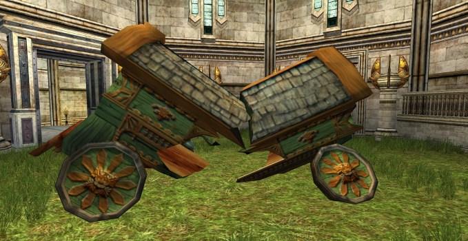 Chariot de Hobbit cassé
