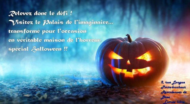 Le Palais de l'Imaginaire – Version Halloween
