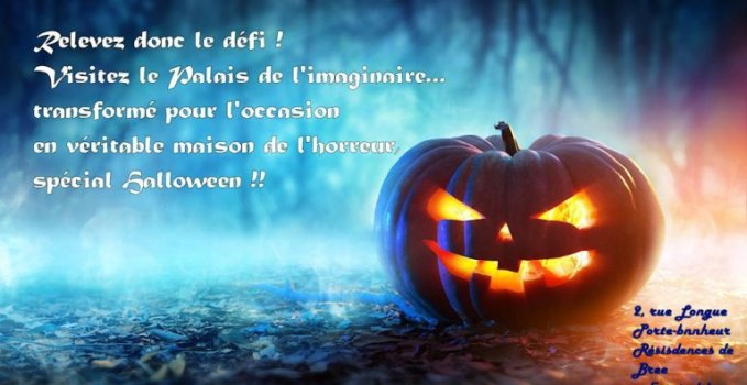 Le Palais de l'Imaginaire – Version Halloween (Fermé)