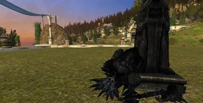 Statue de Sauron – Brisée