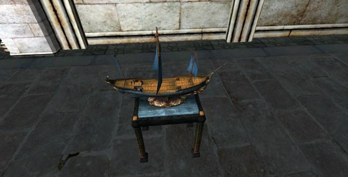 Maquette de Vaisseau du Gondor