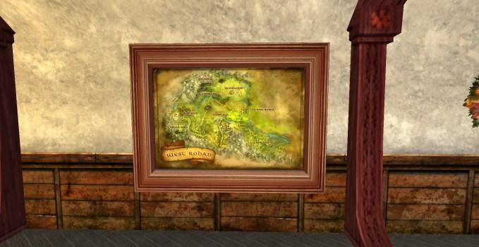 Grande carte de l'Ouest du Rohan