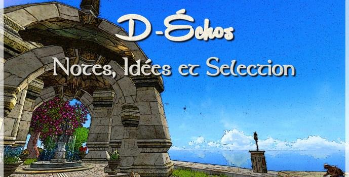 D-Échos : notes, idées et sélection
