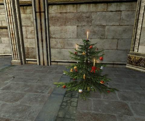 Decorated Yule-Tree (Arbre de Noël Décoré)