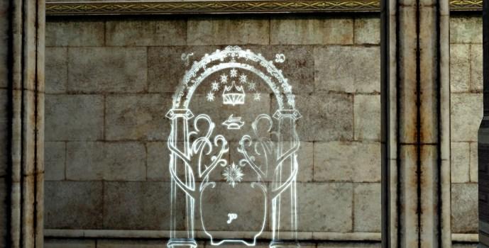 Gravure murale de la Porte de Houssaye