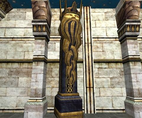 Colonne Indépendante de la Moria (Free-Standing Moria Crown Column)
