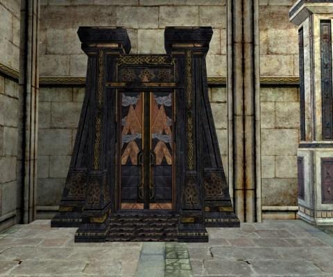 Réplique de la Porte de Mazarbul (Door to Mazarbul Replica)