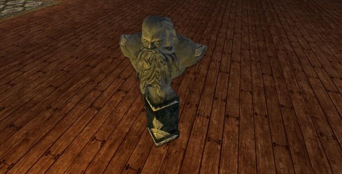Buste de la Bibliothèque des Nains (Dwarf-make Library Bust)