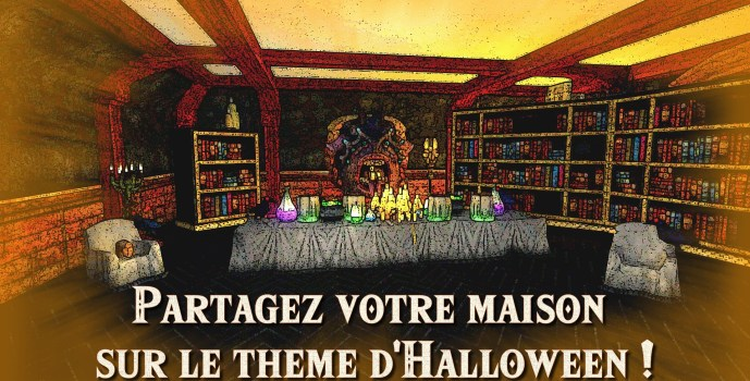 Partagez votre maison sur le thème d'Halloween !