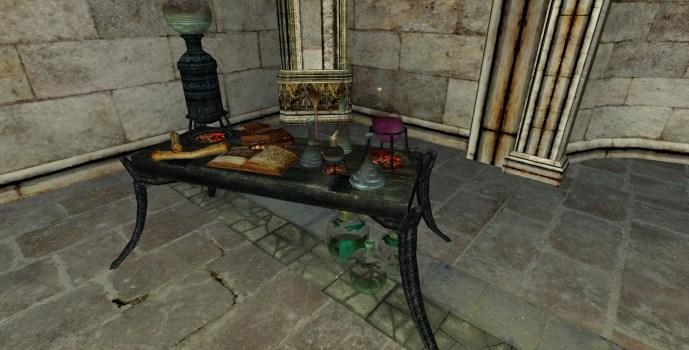 Établi d'Alchimie de Minas Morgul