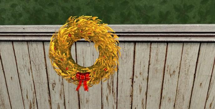 Couronne de Noël Dorée (Golden Yule-Wreath)