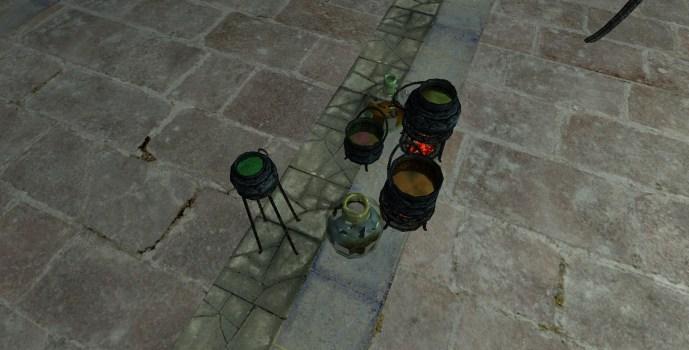 Fourniture pour Mixture de Minas Morgul