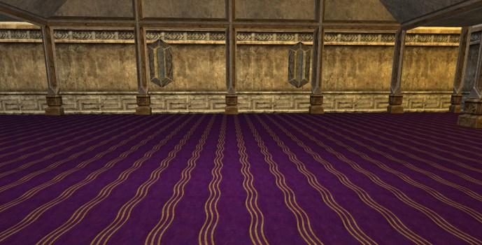 Moquette Fantaisie Violette – Premier Style (Fancy Purple Carpet – First Style)
