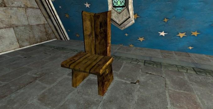 Chaise de dîner Rustique