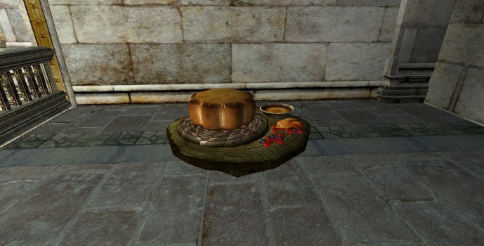 Stand Élégant de Gâteau au Miel