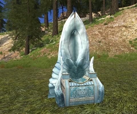 Trône du Gondor – Réplique (Throne of Gondor – Replica)