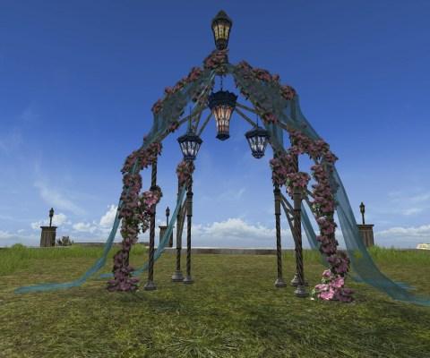 Arche de jardin du Solstice d'été (Midsummer Garden Arch)