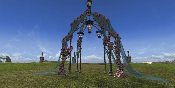 Arche de jardin du Solstice d'été