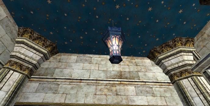 Lanterne suspendue évasée (Flared Hanging Lantern)
