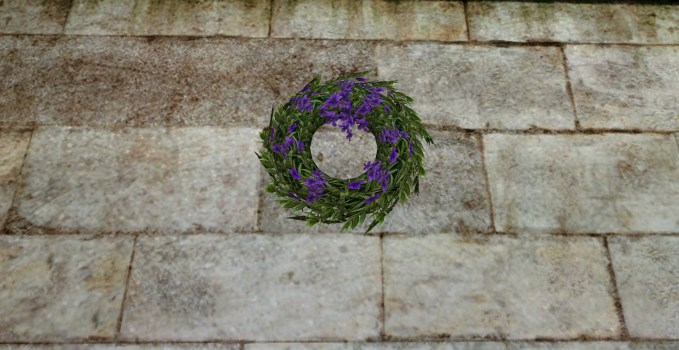Couronne de Mariage Violette