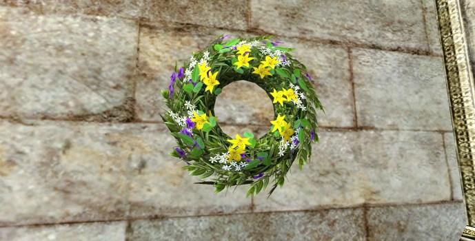 Couronne de Mariage Joyeuse (Joyous Wedding Wreath)