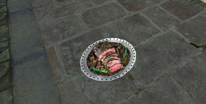 Assiette de Rôti en tranche (Platter of Sliced Roast)