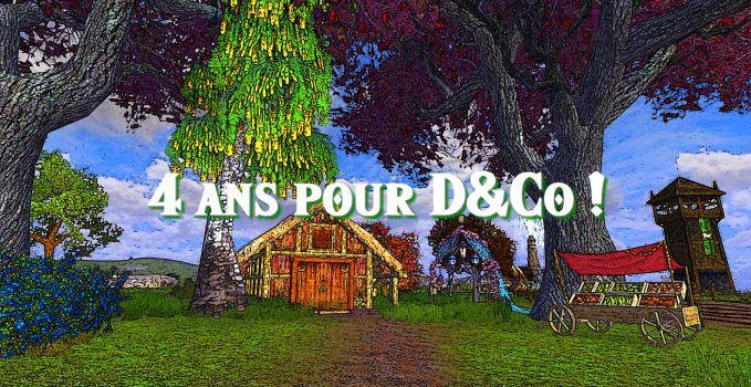 Anniversaire : quatrième bougie pour D&Co du Milieu !
