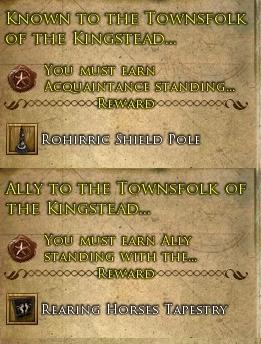 Prouesse de réputation des quartiers des Terres du Roi