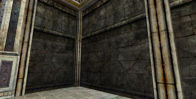 Mur en Pierres Ouvragé