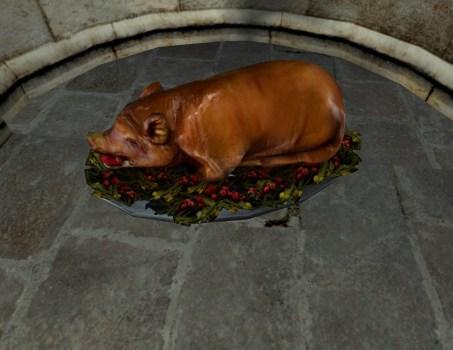 Cochon rôti