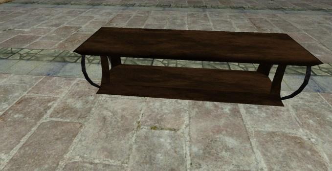 Élégant banc en bois