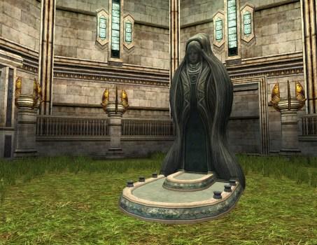Statue de la Cour de Fondcombe