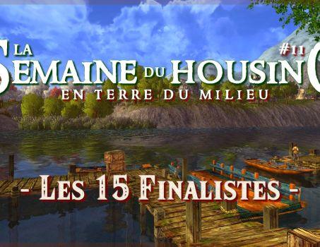 Semaine du Housing #11 – Les 15 finalistes !