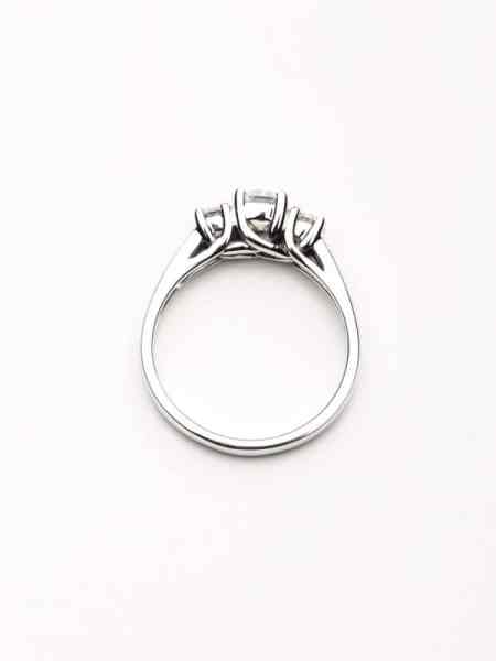 Three Stone Trellis Ring 2