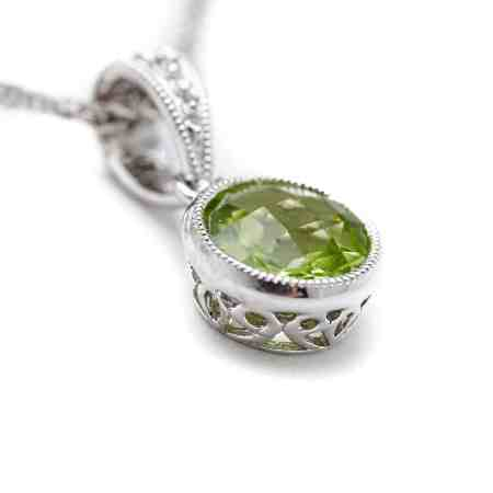 White Gold Peridot