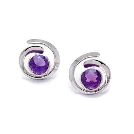 White Gold Amethyst