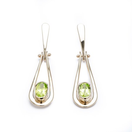 Yellow Gold Peridot