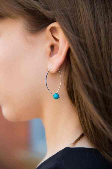 Sliding Bead Earrings 1