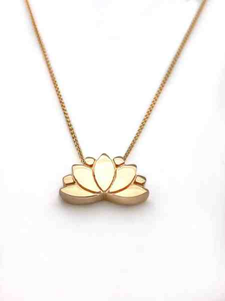 Lotus Necklace 4