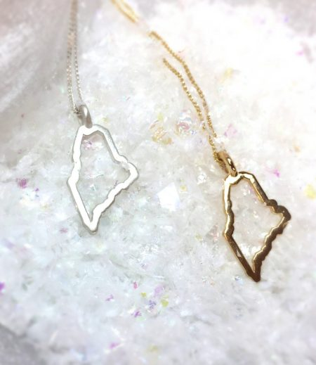 Maine Outline Necklace 1