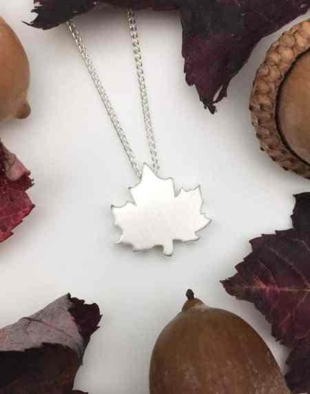 Sugar Maple Leaf Necklace 1