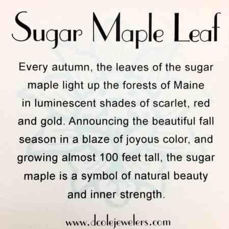 Sugar Maple Leaf Necklace 2